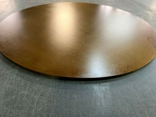 """1//4/"""" x 12.5/"""" Pre-Seasoned Ready to use out of the box! 1//4/"""" Steel Pizza Plate"""