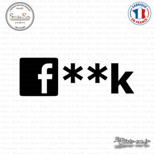 Sticker JDM Fuck Censure Decal Aufkleber Pegatinas D-342 Couleurs au choix