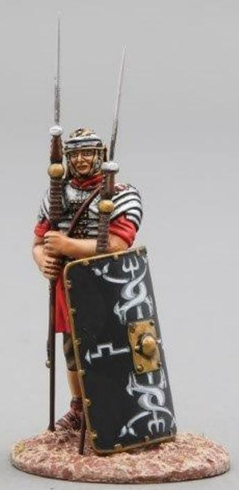 Thomas Gunn Rouomoa Impero ROM013B 30TH Legionario in Piedi in Reserve Nero MIB