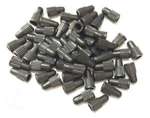 lot-Bouchon-Capuchon-valve-d-039-air-plastique-noir-presta-pour-Auto-Moto-Velo-bmx