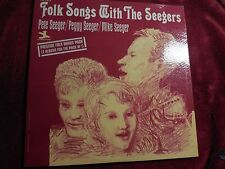 The Seegers - Folk Songs With The Seegers - RARE - Pete Seeger (1965) PR 7375