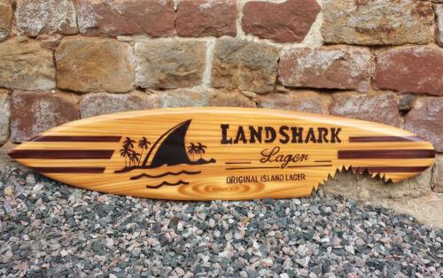 100cm Holz Dekosurfboard retro du // Deko Surfboard SU 100 N10 Surfbrett