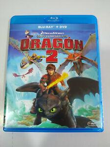 Como Entrenar a Tu Dragon 2 Dreamworks - Blu-Ray Español Ingles