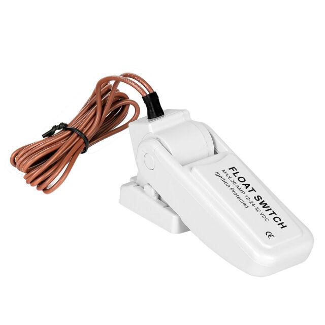 Universal CE Bilge Pump Float Switch 12V 24V or 32V For Boat Yacht Marine