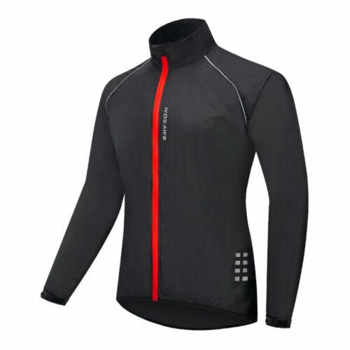 Men/'s Cycling Jersey Jacket Windproof Waterproof MTB Bike Riding Tops Clothing