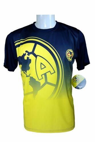 M Club America Soccer Official Adult Poly Jersey P003