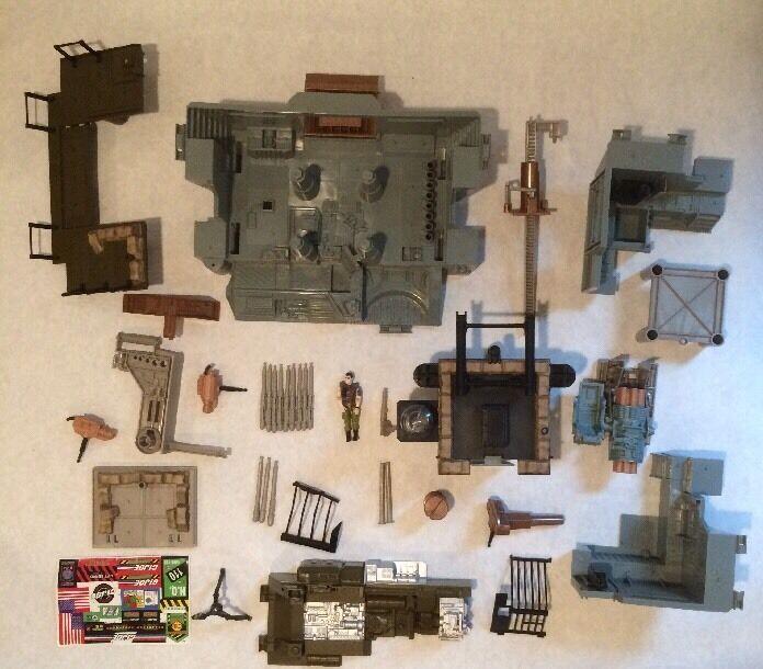 GI Joe 2001 HEADQUARTERS Incomplete Parts Lot