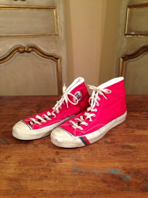 Vintage Pro Keds NBA Basketball Sneakers Men's Size 13 Collectors!! 1970's !!!