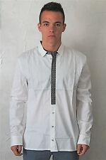 chemise homme blanche M& FRANCOIS GIRBAUD barkeep taille 48 (XL) NEUVE ETIQUETTE