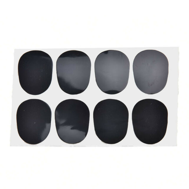 0.8mm 8pcs rubber saxophone sax clarinet mouthpiece pads patches cushions HT