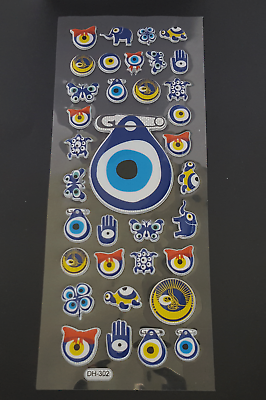 35x Nazar Fatimas Hand Tugra Evil Eye Motiv Deko Sticker Weitere Viele Motive