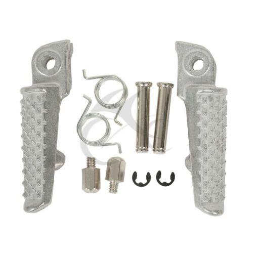 Front Footrest Foot Pegs For Honda CBR600 F4 1999-2000 CBR600F4i  2001-2006