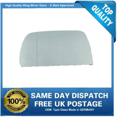 BMW X5 Wing Mirror Glass Replacement 1999-2006 Left Side