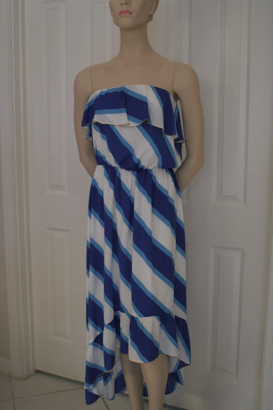 Lilly Pulitzer Pulitzer Pulitzer Womens Caldwell Dress Sail Stripe Size L NWT  278 1f4eb1