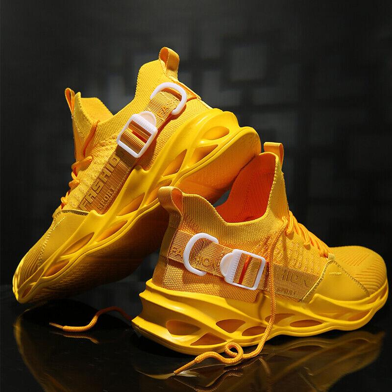 Hot Mens Blade Sneakers Athletic Sport