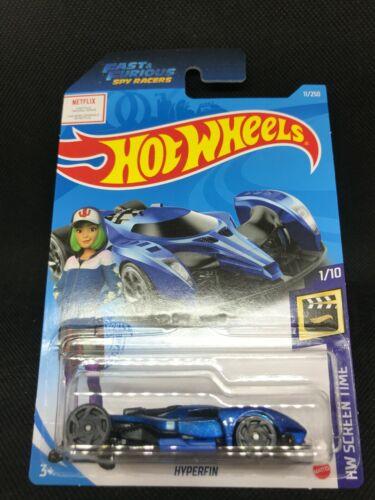 HW Screen Time 2021 Hot Wheels A Case 11//250 Hyperfin Spy Racers