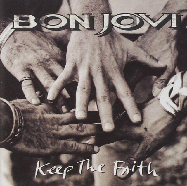 BON JOVI Keep the Faith LP Vinyl BRAND NEW 2016