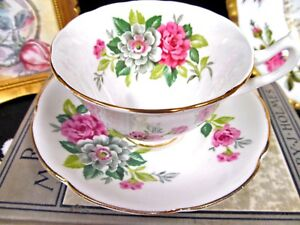 COLLINGWOODS-TEA-CUP-AND-SAUCER-PINK-FLORAL-PATTERN-TEACUP