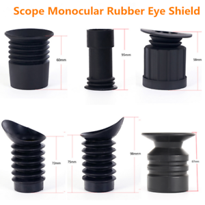 SALE ohhunt Hunting Rifle Scope Lens Cover Soft Rubber Eyeshade Eye Protector