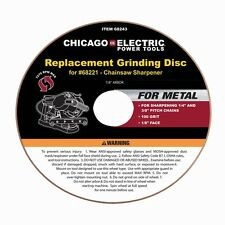 "Chain Saw Sharpener 4-1/4"" Aluminum Oxide Grinding Disc"