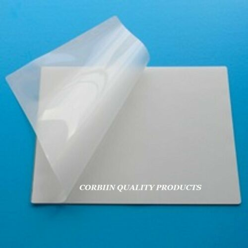 100 Business Card Laminating Pouches Laminator Sleeves 2-1//4 x 3-3//4 3 mil Gloss