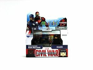 Marvel Minimates série 66 Captain America guerre civile Film Guard