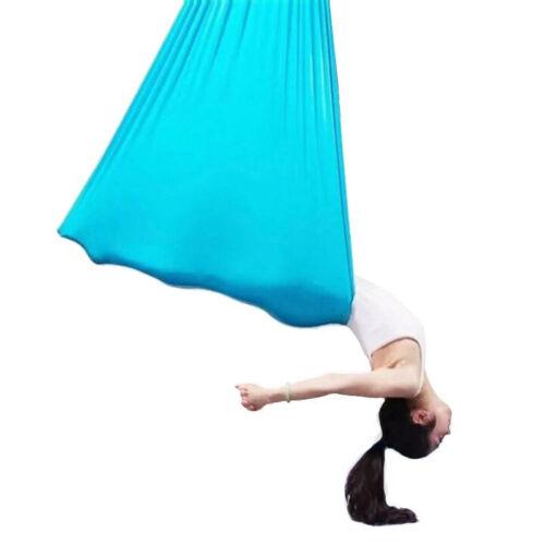 Fitness Übungen Aerial Yoga Swing Hängematte Schaukel Elastische Tuch