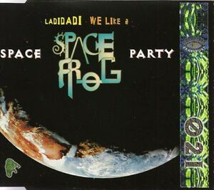 Space-Frog-Maxi-CD-Space-Party-Germany-VG-EX