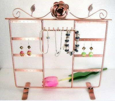 copper Jewelry Holder Display Rack for Earrings & bracelet& necklace d030
