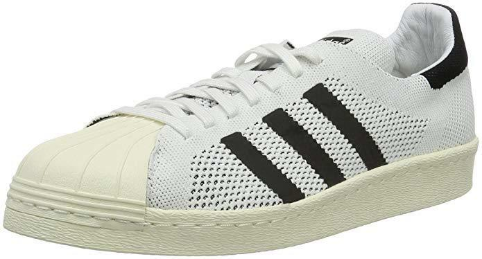 Adidas ORIGINALS Men's Superstar 80's Primeknit Trainers   Size 12 UK   BNWT