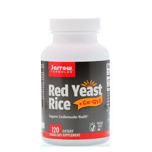 Jarrow Formulas, Red Yeast Rice + Co-Q10, 120 Veggie Caps Dietary Supplement I