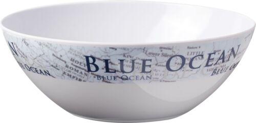 Piatti melamina stile nautica Blue Ocean Brunner antiscivolo resistenti camping
