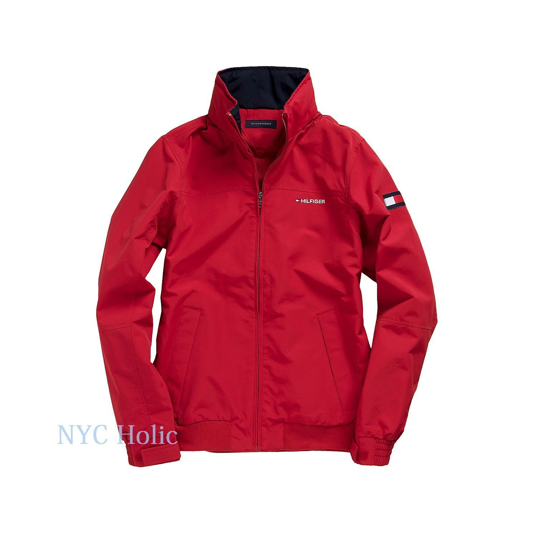 2736dde93f3fff New Tommy Hilfiger Mens Yacht Jacket Windbreaker All Sizes Water Resistant