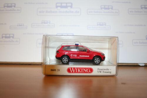 Ho VW Touareg Wiking 060128 87 article neuf pompiers échelle 1