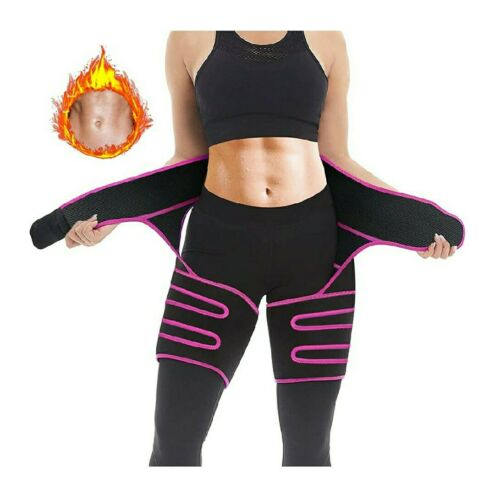 Unique 3 in 1 Neoprene Waist and Thigh Trimmer for... Waist Trainer for Women