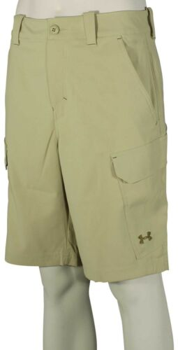 Saddle New Under Armour Fish Hunter Cargo Shorts Enamel