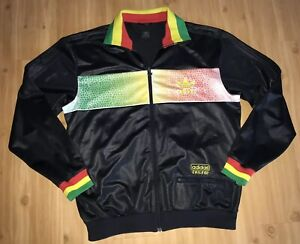 Details about Adidas Chile 62 Rasta Jamaica Track Top Jacket Men's Size L