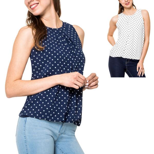 ! Hachiro Blusa Señora Blusa Verano Top Business Ocio Damentop Señora Camisa Camiseta-ver Compra Uno Da Uno