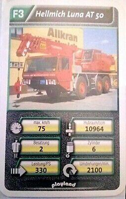46 Art.nr Quartett Einsatzfahrzeuge Einzelkarte Rosenbauer Panther