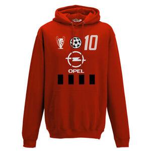 Dettagli su Felpa Cappuccio Calcio Vintage Rui Milan Costa 10 Stagione 02 03 Champion Uomo