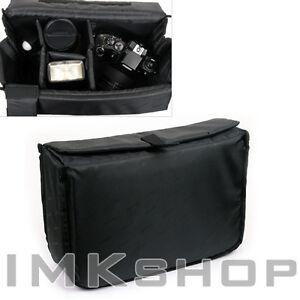 NEW-MATIN-Camera-Insert-Extendable-Partition-Padded-Bag-L-for-DSLR-SLR-Lens