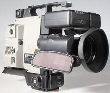 COLOR VIDEO CAMERA JVC BY-11O W/ HZ-110 LENS F/1.4 /7-70MM & CASE