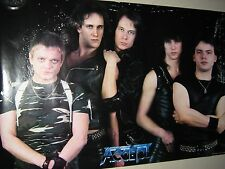 "Accept / Original Vintage Poster. / ""Group"" 1984 / VG New cond. - LAST ONE"