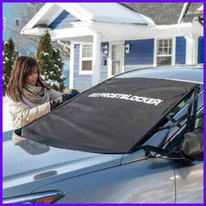 Delk Frost Blocker Windshield And Mirror Cover Fits Most
