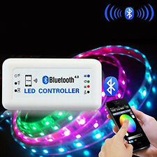 Wireless Bluetooth RGB LED Strip Light Controller for iOS 6.0 iPhone Android 4.3