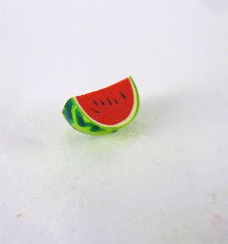 P054 Dollhouse Miniature Summer Watermelon Slice