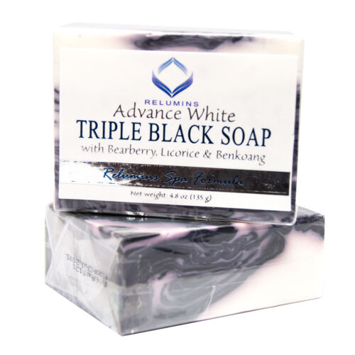 10 Bars Relumins Spa Formula Triple Action Black & White Whitening Soap