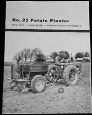 Ih Mccormick No 25 Potato Planter Brochure International Harvester Farmall