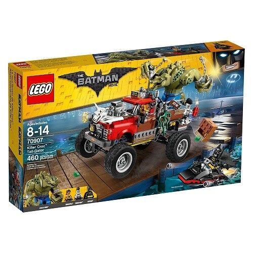 NEW Lego THE BATMAN MOVIE (70907) Killer Croc Tail-Gator - 460 pcs