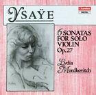 Sonatas for Solo Violin by Ysaye CD 095115859926